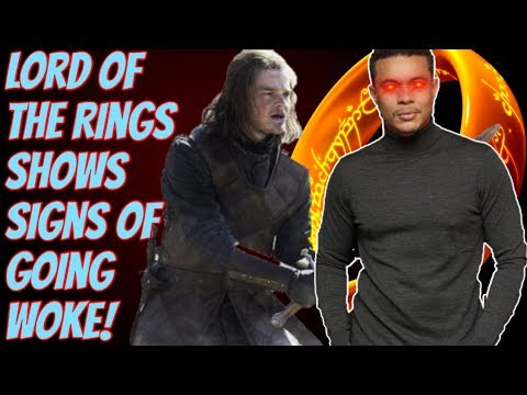 WOKE Lord Of The Rings Is Coming?! Amazon Reveals Full Cast And I'm Worried!