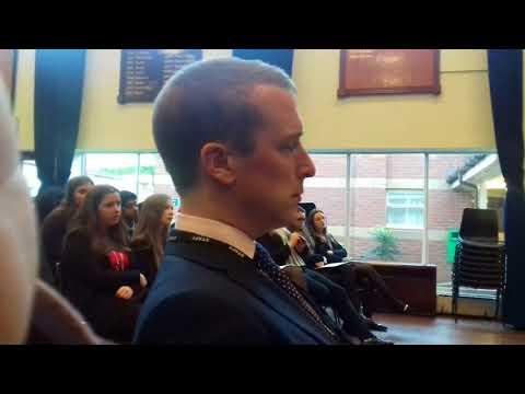 Ahmad Nawaz speech in King Edward School Five Ways, Birmingham, UK.