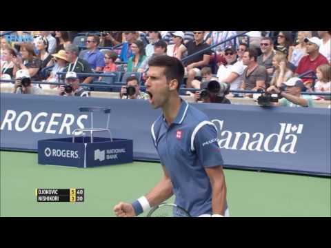 2016 Rogers Cup: Novak Djokovic v Kei Nishikori Final Highlights