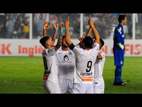 Santos 3 x 0 Coritiba | GOLS | Brasileirão (08/08/15)