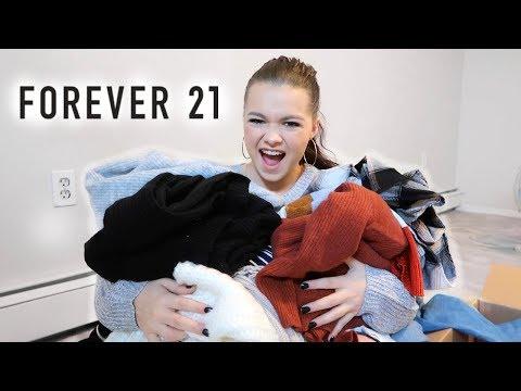 HUGE Forever 21 Fall Haul | Try On