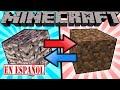 SI LA BEDROCK Y LA TIERRA CAMBIASEN LUGARES - Minecraft