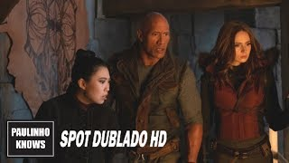 Jumanji: Próxima Fase (Jumanji: The Next Level, 2020) | Spot Dublado HD