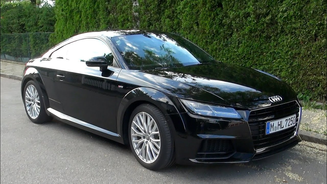 2015 audi tt 2 0 tdi ultra 184 hp test drive youtube. Black Bedroom Furniture Sets. Home Design Ideas