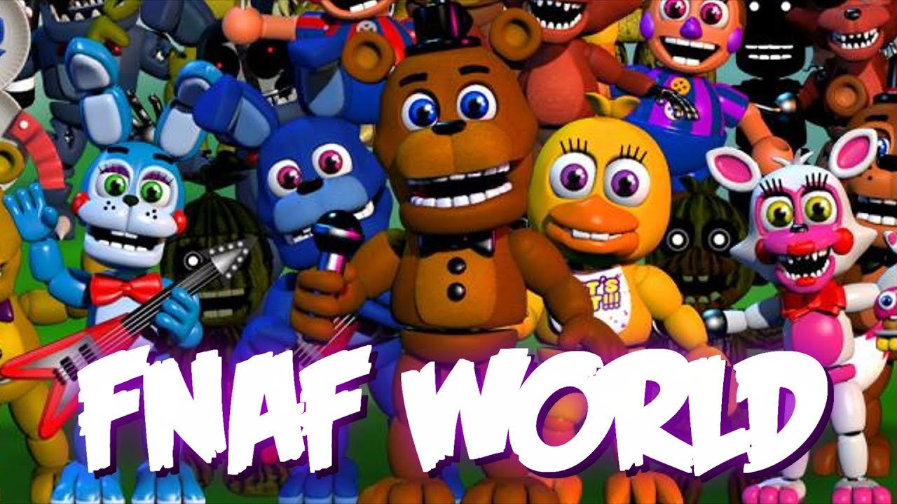 Five Nights At Freddy S World Gameplay Part1 Youtube