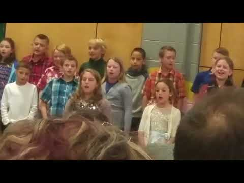 My grandson is singing at boyce elementary school