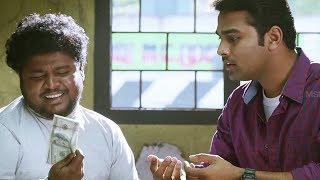 Murugan and Guberan hide the money bag  Enga Kaatula Mazhai   Mithun, Shruthi, Appu Kutty