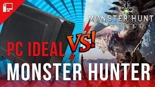PC Ideal encara o Monster Hunter World (e tentamos o ultrawide)