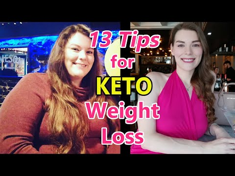 Beginner's Guide to KETO Weight Loss with 13 Tips!