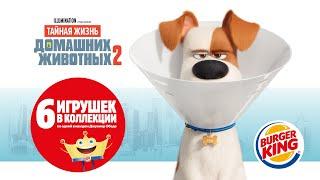 Тайная Жизнь Домашних Животных-2 в БУРГЕР КИНГ!