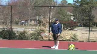 How To Play Tennis - Tennis Training: Second Serve Drills