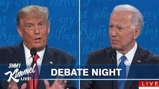 Jimmy Kimmel on Trump and Biden's Final Debate