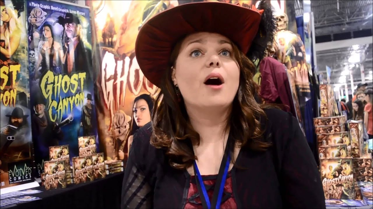 Angie Warner talks about Ghost Canyon at Motor City Comic Con