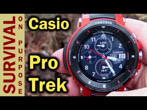 Casio Pro Trek WSD-F30 Outdoor GPS Smart Watch Initial Review
