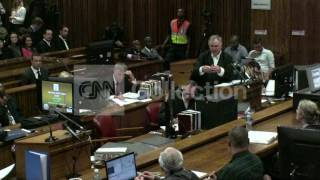 PISTORIUS LAWYER ACCUSES WITNESS OF SPECULATING