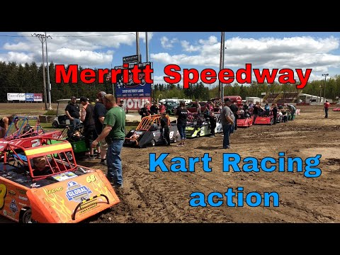 Merritt Speedway- Mini Wedge dirt oval racing 05-26-2019