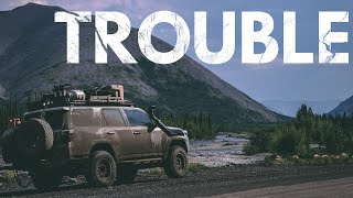 S1:E30 Trouble finally found us in Dawson City - Lifestyle Overland