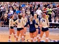 2016 South Atlantic Conference Volleyball - Queens at Wingate (10/21/2016)