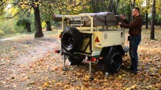 Внедорожный прицеп «Columbus Extreme Campers» Made in Ukraine(, 2014-10-29T20:25:28.000Z)