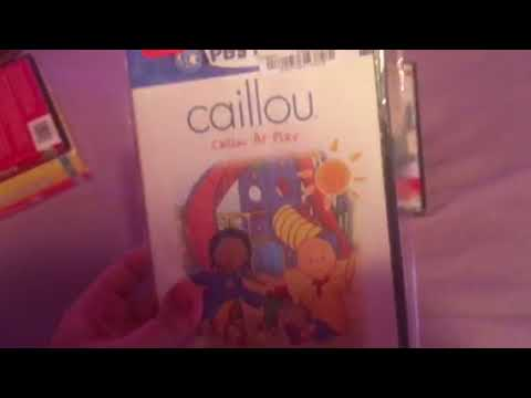 My Caillou DVD Collection