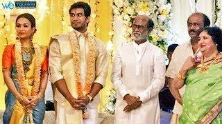 Soundarya Rajinikanth Second Marriage Reception Video | Vishagan Vanangamudi