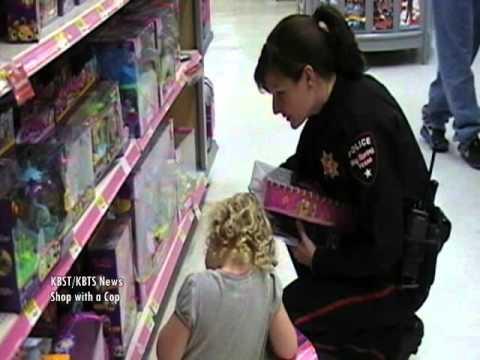 KBST/KBTS News- Big Spring Police Association- Shop with a Cop- Christmas 2011