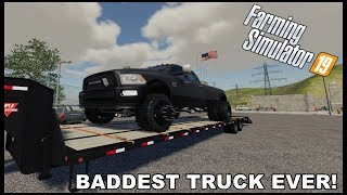 FS19 - BUYING THE BADDEST DIESEL TRUCK EVER! - EP.8