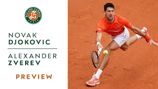 Novak Djokovic vs Alexander Zverev - Quarterfinals Preview | Roland-Garros 2019
