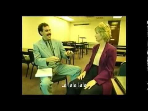 Borat, blague de la chaise VOSTFR