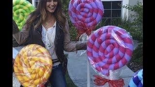 Giant Lollipops DIY