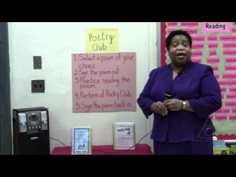 Practicing Poetry: Developing Fluency at the Poetry Center (Virtual Tour)