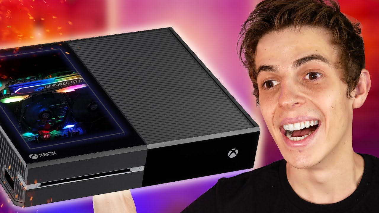 UM PC DENTRO DE UM CONSOLE ( RTX 2080 Super ) #1