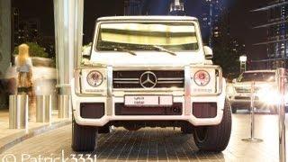 Sheikh Mohammed bin Rashid Al Maktoum & his No.1 white G63 AMG سيارة حاكم دبي