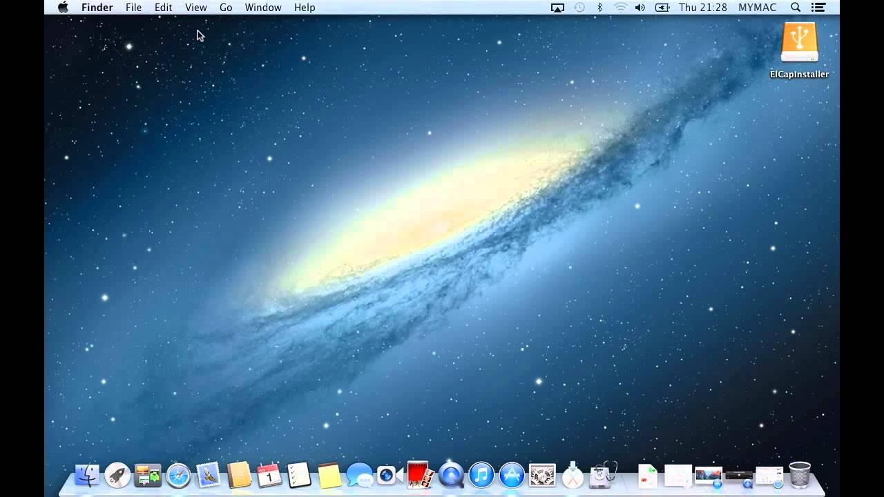 Part 1  Make a Bootable OS X El Capitan Installer USB Drive