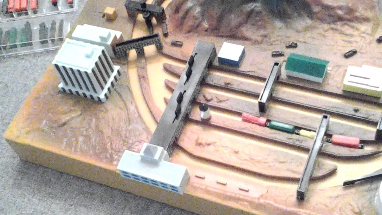 VINTAGE 1980s Apollo Micro Miniature battery TOY TRAIN Set ...