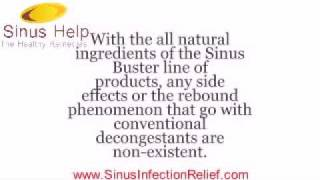SINUS BUSTER - How does Sinus Buster work?