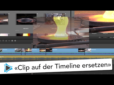Clip ersetzen auf der Timeline mit Pinnacle Studio 20 Deutsch Video Tutoria