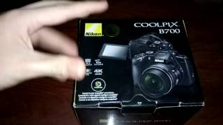 UNBOXING Nikon Coolpix B700 - 4K - in egypt :. الحلقة رقم 18 .: