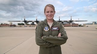 Maj. Cortnie Echterling - C-130 pilot with the 139th Airlift Wing
