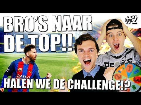 HALEN WE DE CHALLENGE!? BRO'S NAAR DE TOP! #2