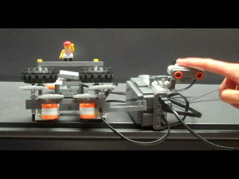 LEGO Mindstorms NXT Ball Shooter and Printer with LabVIEW for Education