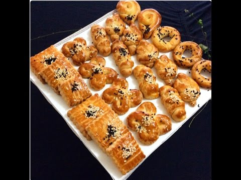 Tek Hamurdan 6 Farklı Çeşit Pastahane Kurabiyesi (Enfes Bir Lezzet)