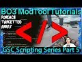 GSC Scripting Series Part 5: Foreach / Array / Auto Link: Custom Zombies Black Ops 3 Mod Tools