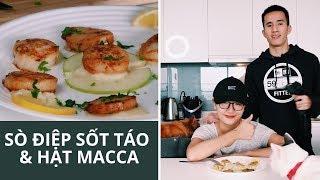 SÒ ĐIỆP CHUẨN FINE DINING TẠI NHÀ | Anh bạn thân Cooking #6