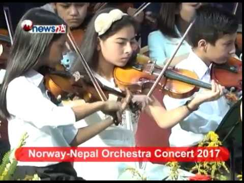 Norway - Nepal Orchestra Concert 2017 - NEWS24 TV