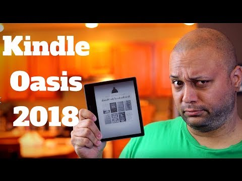 Amazon Kindle Oasis 2018 review - The Best E-Reader ever?