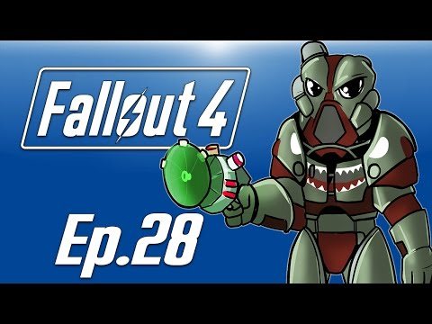 Delirious plays Fallout 4! Ep. 28 (Atom Cats Garage!) Shark Paint!
