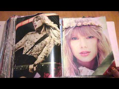 my Taylor Swift  collection /binder