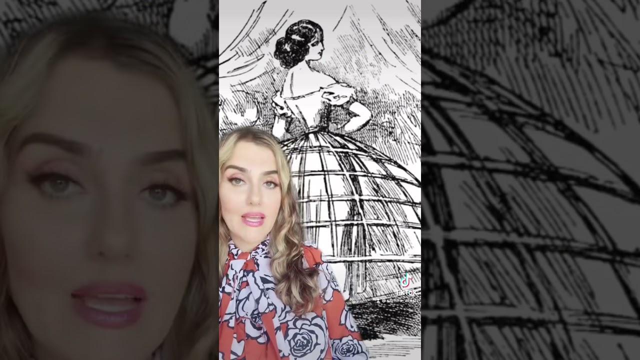 fashion history: the crinoline skirt