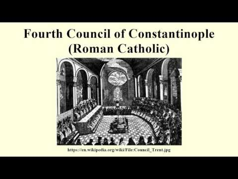 Fourth Council of Constantinople (Roman Catholic)